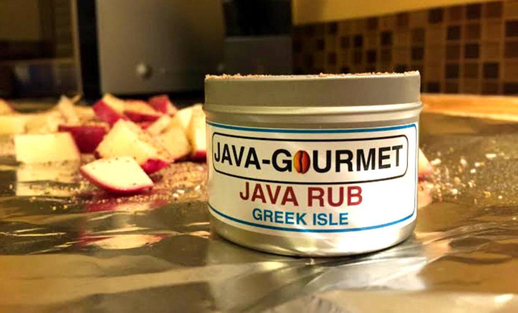 Java Gourmet Greek Isle Java Rub