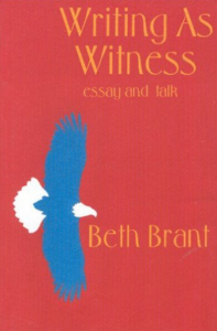 Wright As Witness by Beth Brant