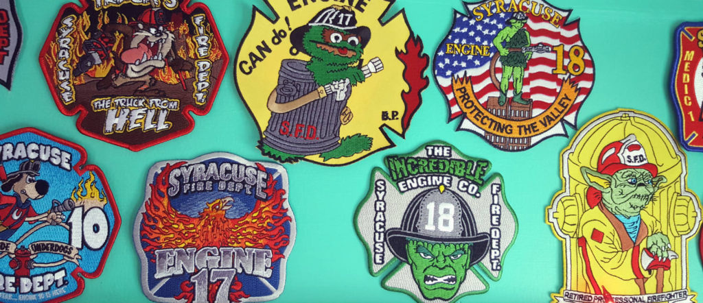 Syracuse Fire Department Patches