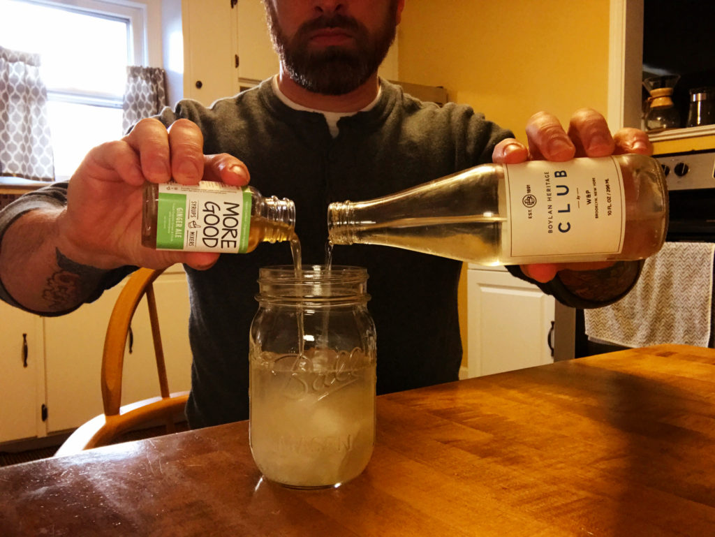 Boylan Club Soda and More Good Ginger Ale Syrup
