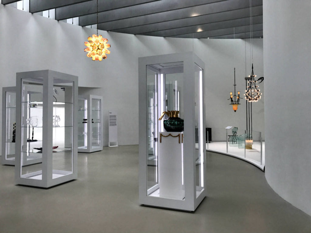 Exhibit in the Corning Museum of Glass