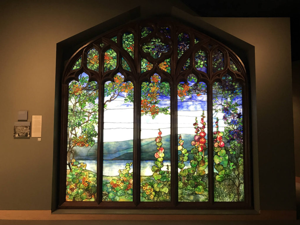 Tiffany Stained Glass at Corning Museum of Glass