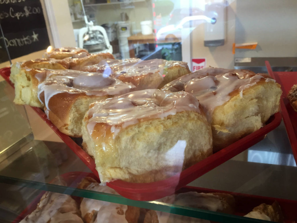 Sticky Buns at Daddy's Donuts in Middletown, New York