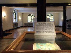 Exhibit in the Karpeles Manuscript Museum in Buffalo, New York