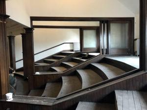 Second Floor Balcony at the Porter Hall Karpeles Manuscript Museum in Buffalo, New York