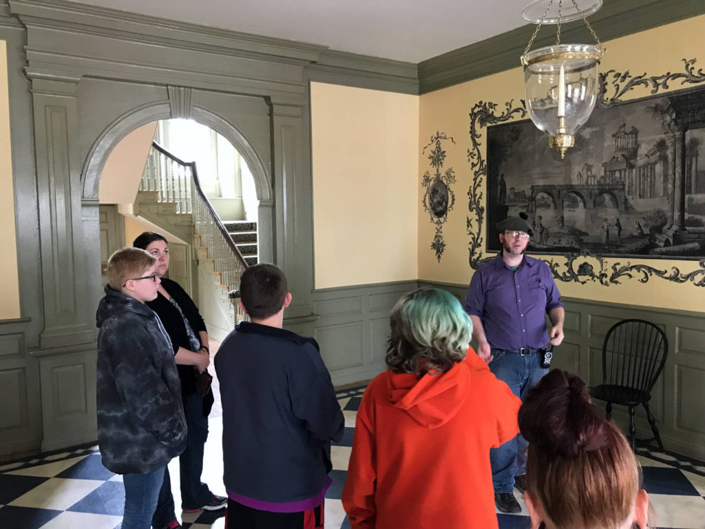 Touring The Schuyler Mansion State Historic Site in Albany, New York