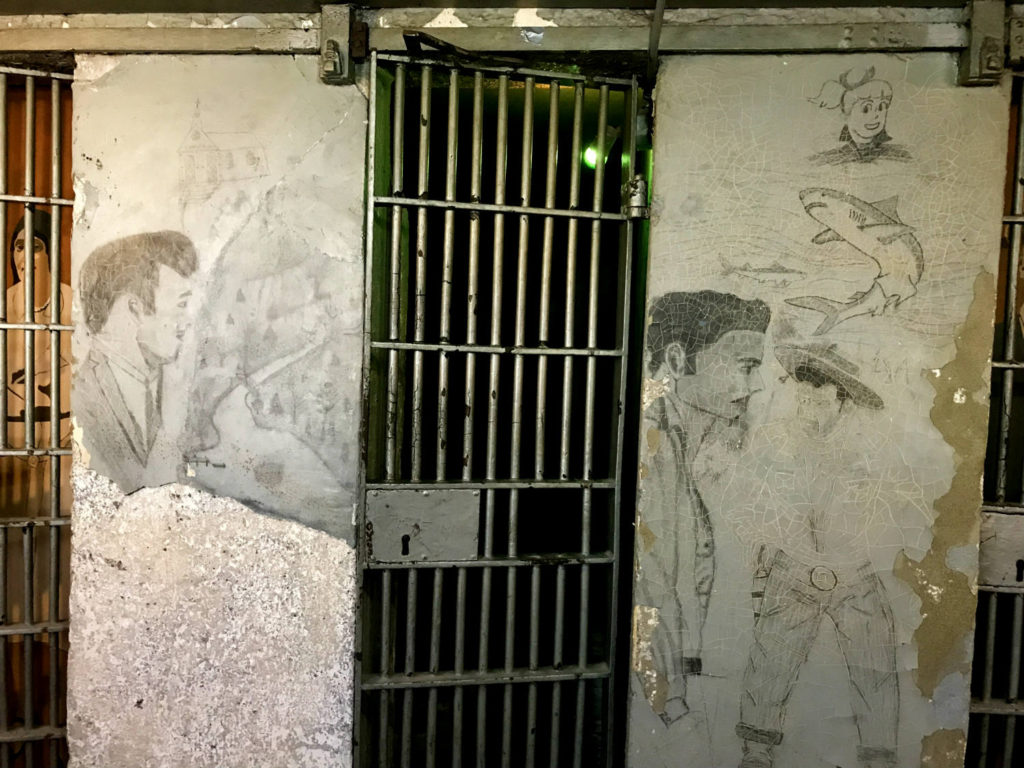 Original Inmate Artwork in the Former Wayne County Jail in Lyons, New York