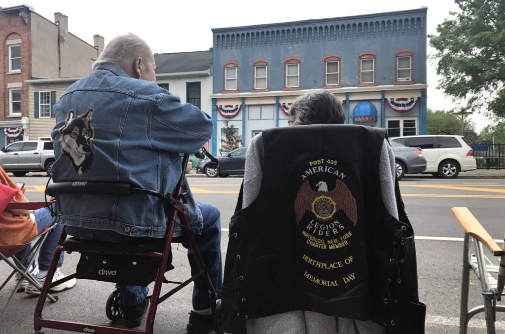 American Legion Riders Cut in Waterloo, New York