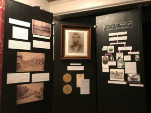 Henry C. Welles Exhibit at the National Memorial Day Museum in Waterloo, New York