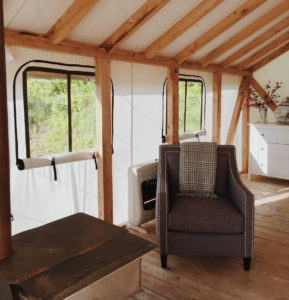 Glamping at the Gilbertsville Farmhouse in Central New York