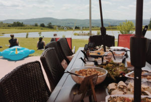 Yoga and Dinner by the Pond at Gilbertsville Farmhouse in Chanango County