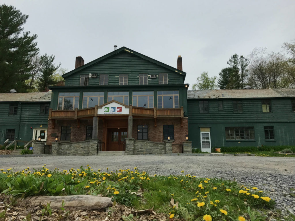Cayuga Nature Center in Ithaca, New York in Tompkins County