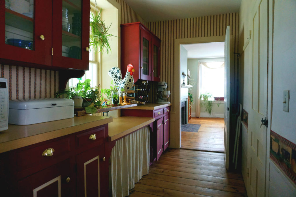 Pantry at the Barden Cobblestone Home in Penn Yan, New York