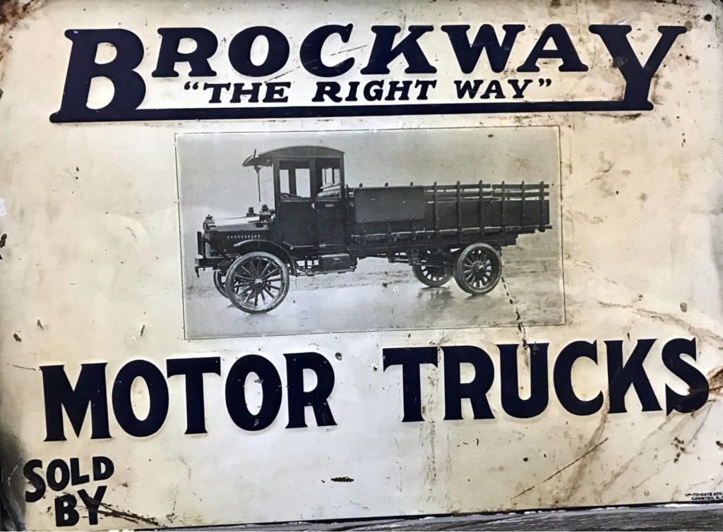 Brockway Motor Trucks Signage