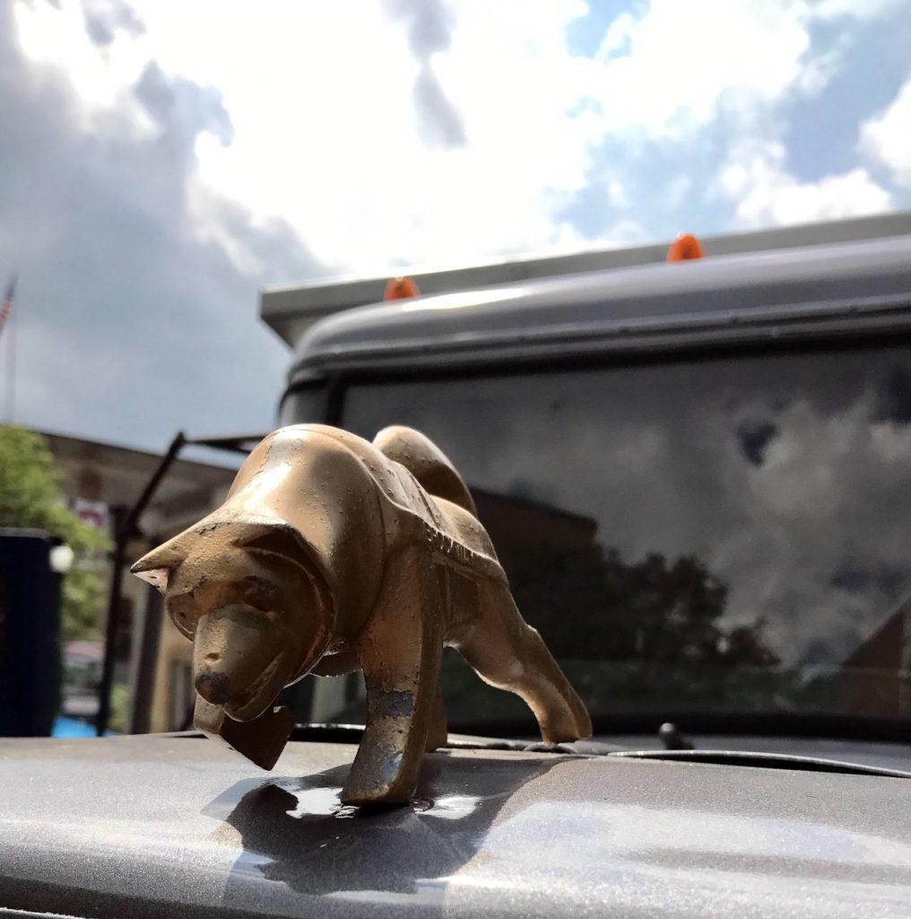 Brockway Motor Trucks Huskie Hood Ornament