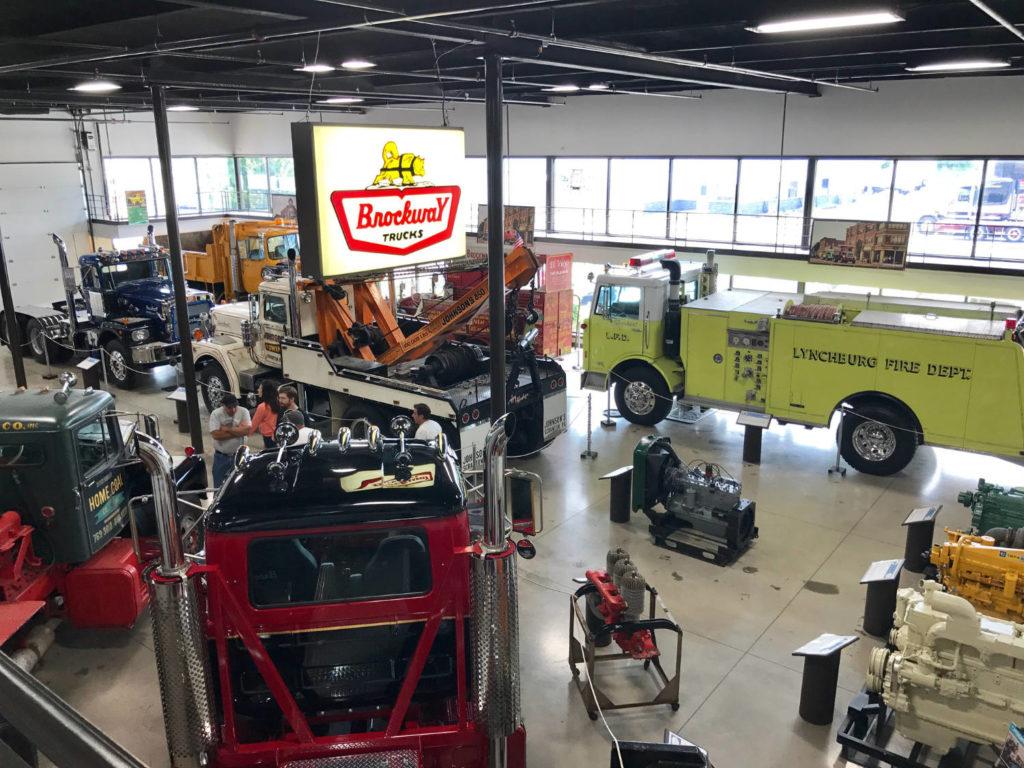 Brockway Truck Museum in Cortland, New York