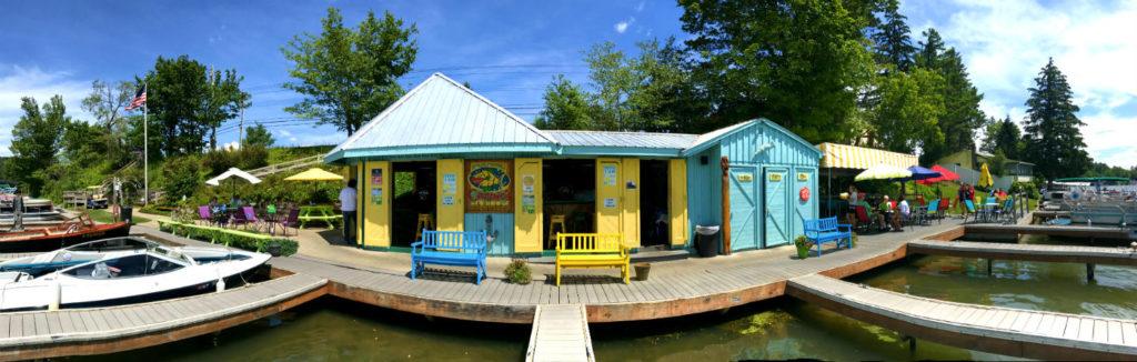Carpie's Grill on Cuba Lake in Cuba, New York