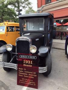 Brockway Motor Trucks 1931 Hearse