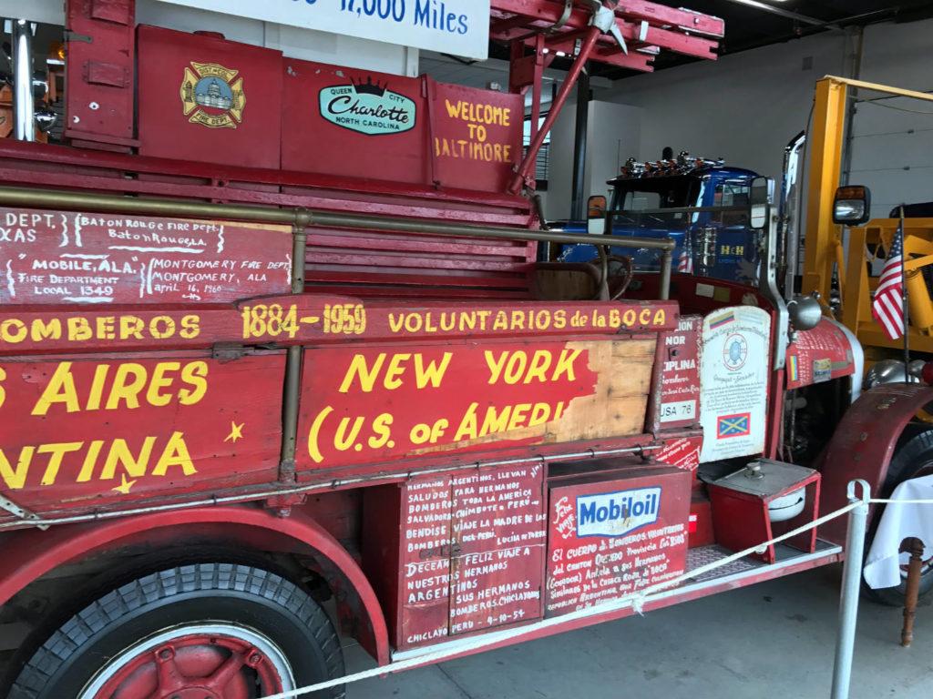 The Brockway El Viejo Firetruck in Cortland, New York