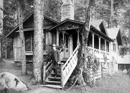 West Cabin at Camp Pine Knot in the Adirondack Mountains
