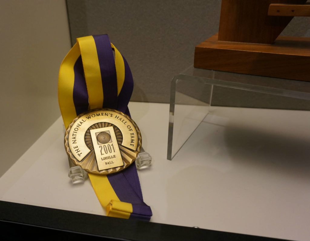 Lucille Ball's National Women's Hall of Fame Induction Medal