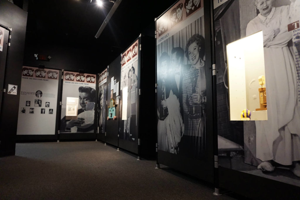 Inside the Lucy-Desi Museum in Jamestown, New York