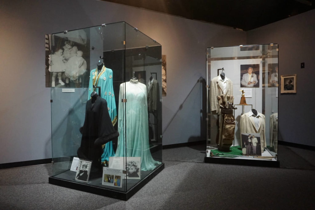Exhibits Inside the Lucy-Desi Museum in Jamestown, New York