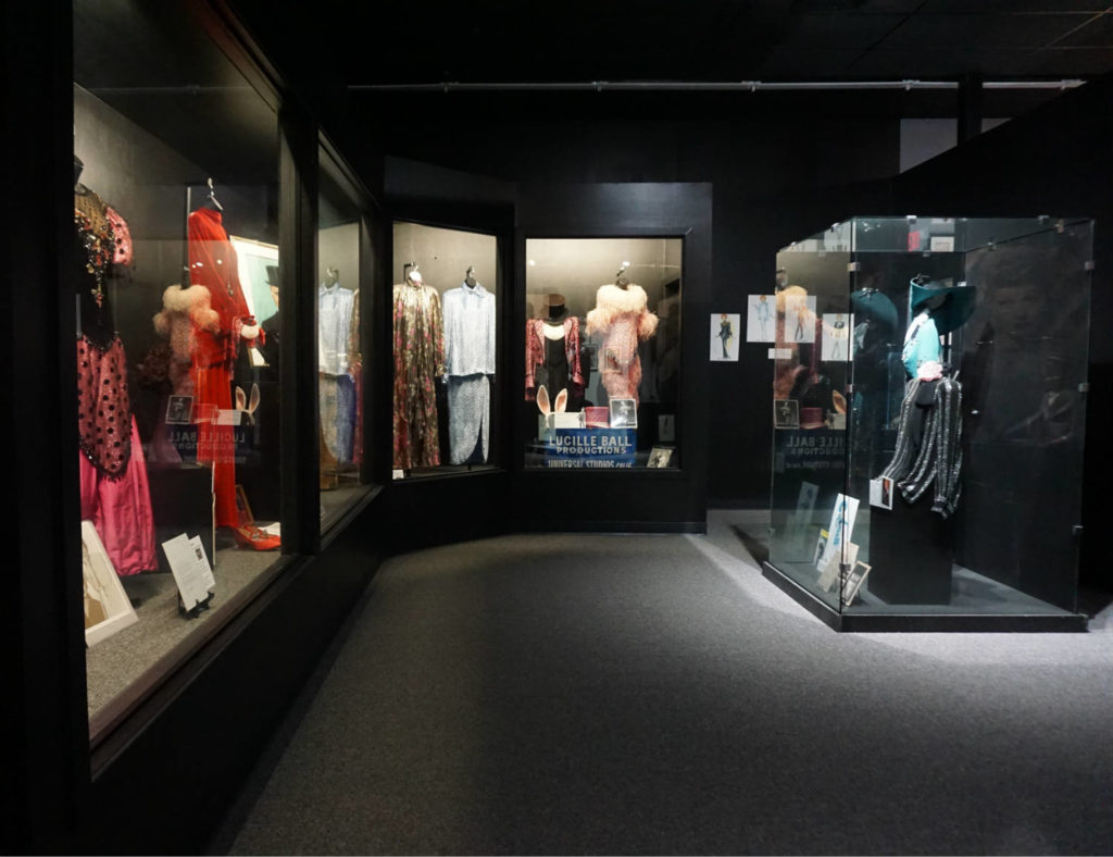 Costumes Exhibits Inside the Lucy-Desi Museum in Jamestown, New York