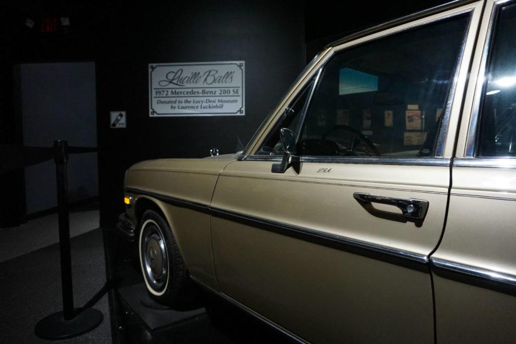 Mercedes Benz in the Lucy-Desi Museum in Jamestown, New York