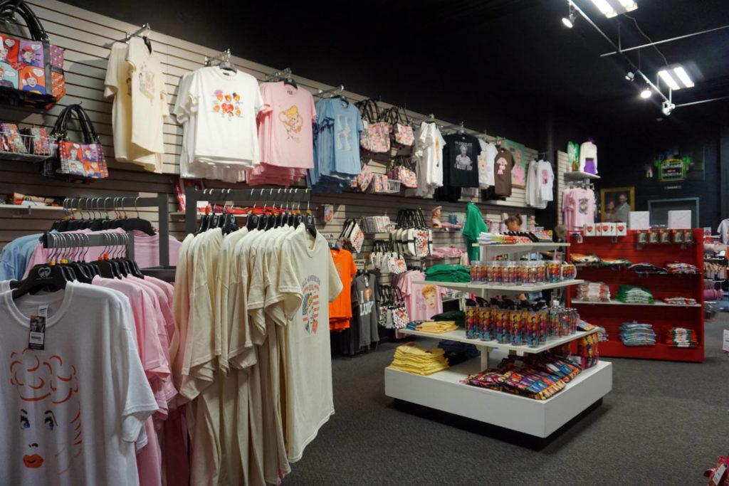 Gift Shop at Desilou Studios in Jamestown, New York