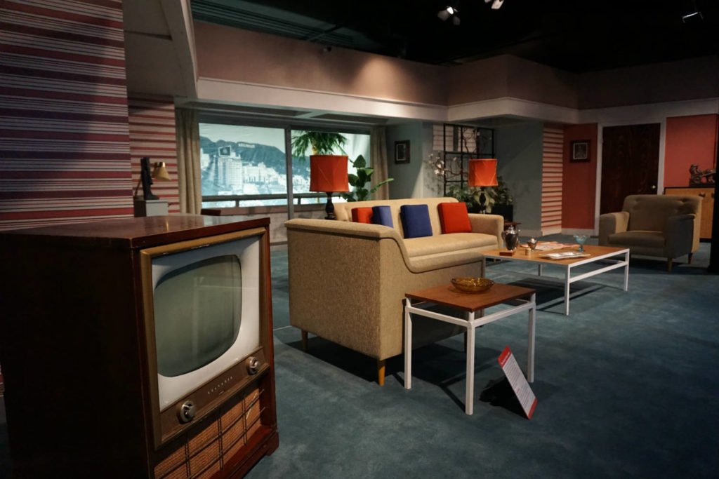 Television Set in Desilou Studios in Jamestown, New York