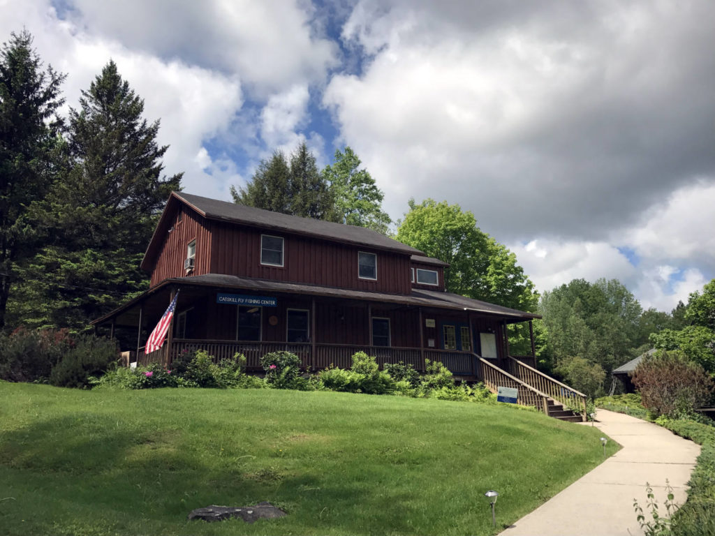 The Catskills Fly Fishing Museum and Center in Livingston Manor, New York
