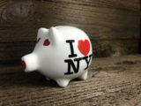 I Love New York Piggy Bank