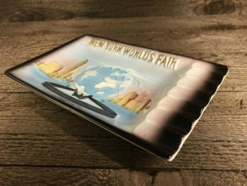 New York World's Fair Antique Ashtray