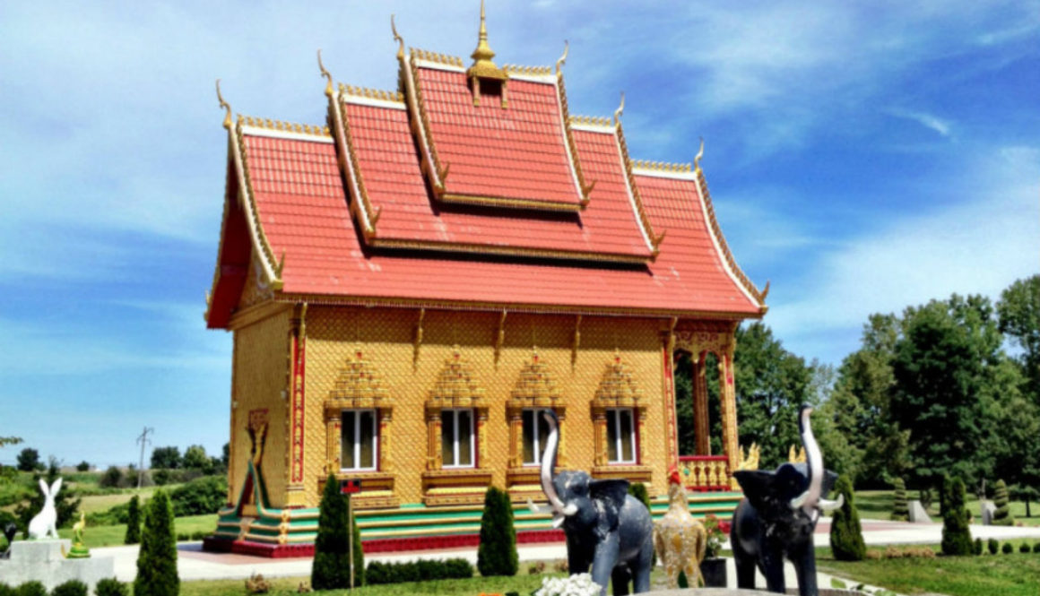 Wat Pa Lao Buddaram in Rush, NY - Featured Image