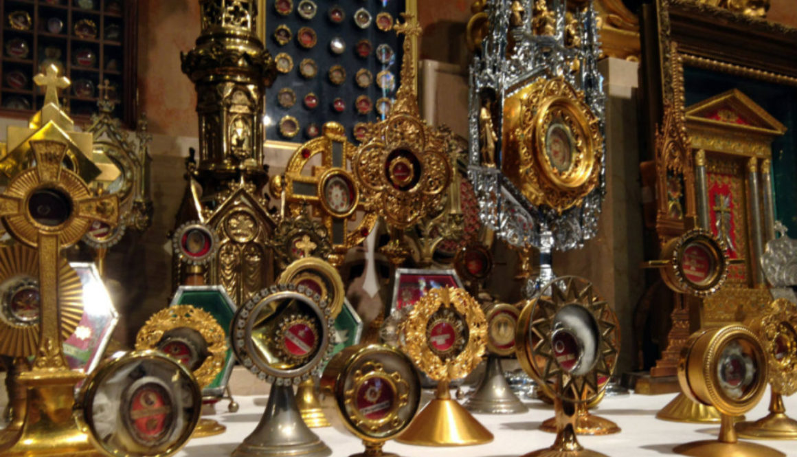 Relic Collection at St. John Gualbert's Church in Buffalo, NY - Featured Image