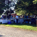 East Avon Flea Market - Tables