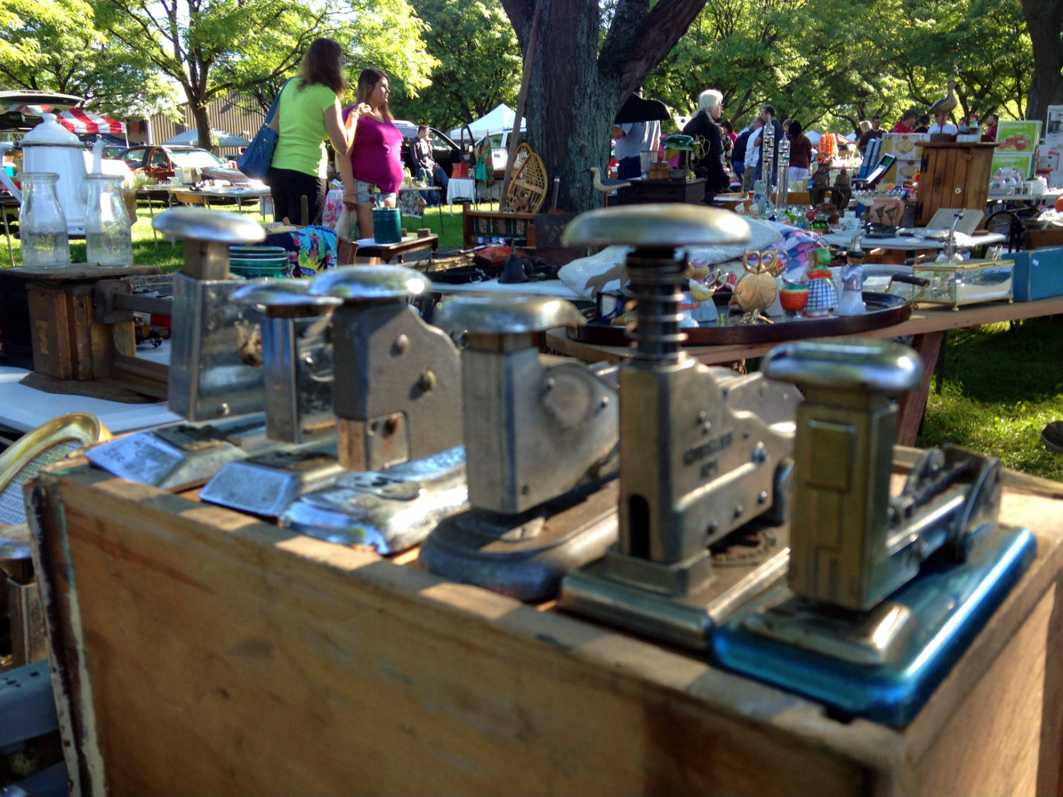 East Avon Flea Market - Staplers