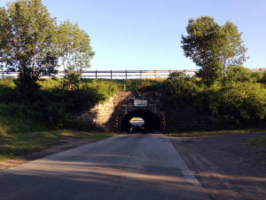 The Medina Culvert - Medina, NY - North Entrance
