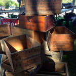 East Avon Flea Market - Wooden Boxes