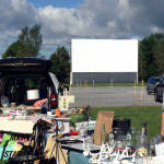 East Avon Flea Market - Movie Screen