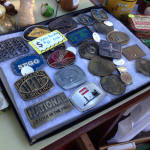 East Avon Flea Market - Belt Buckles