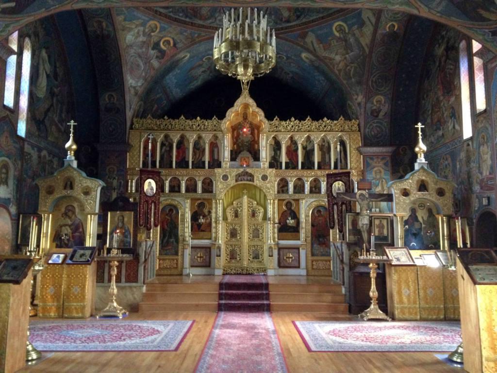 Holy Trinity Monastery - Jordanville, NY Church #1 Nave and Iconostasis