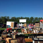 East Avon Flea Market with Screen