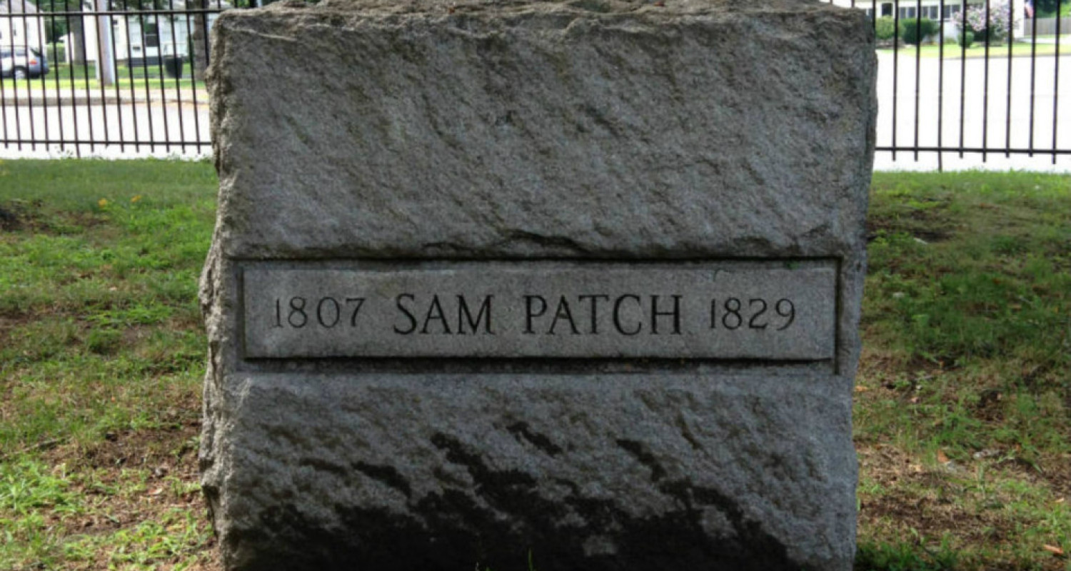 Sam Patch Grave in Rochester, NY - Featured Image