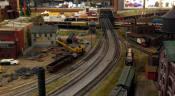 Model Railroad at Medina Railroad Museum in Medina, NY