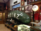 1897 Heinz Pickle Sign from Medina, NY