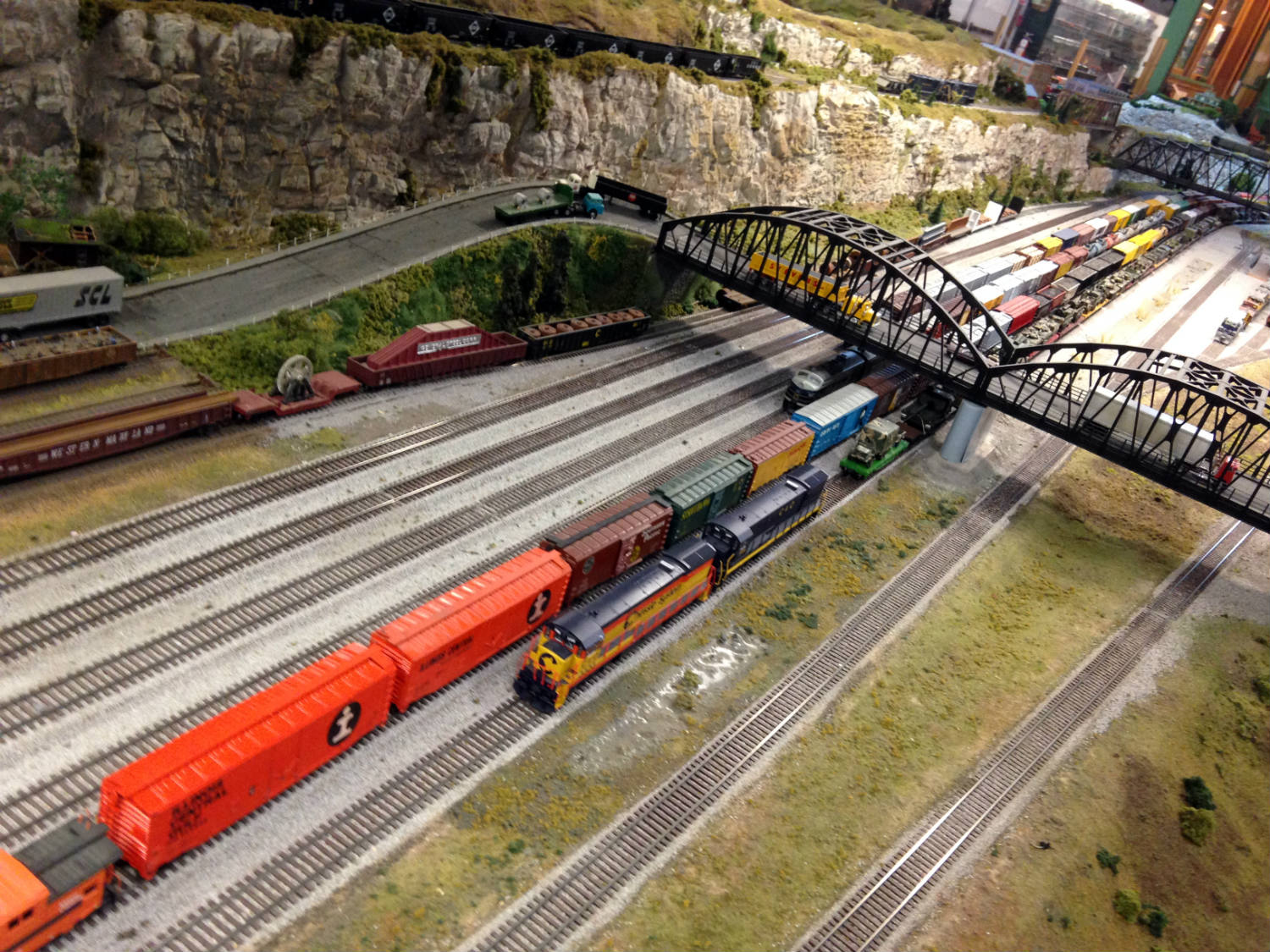 Model Train at Medina Railroad Museum