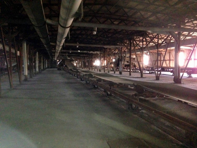 Conveyor Belt in the American Silo; Buffalo, NY
