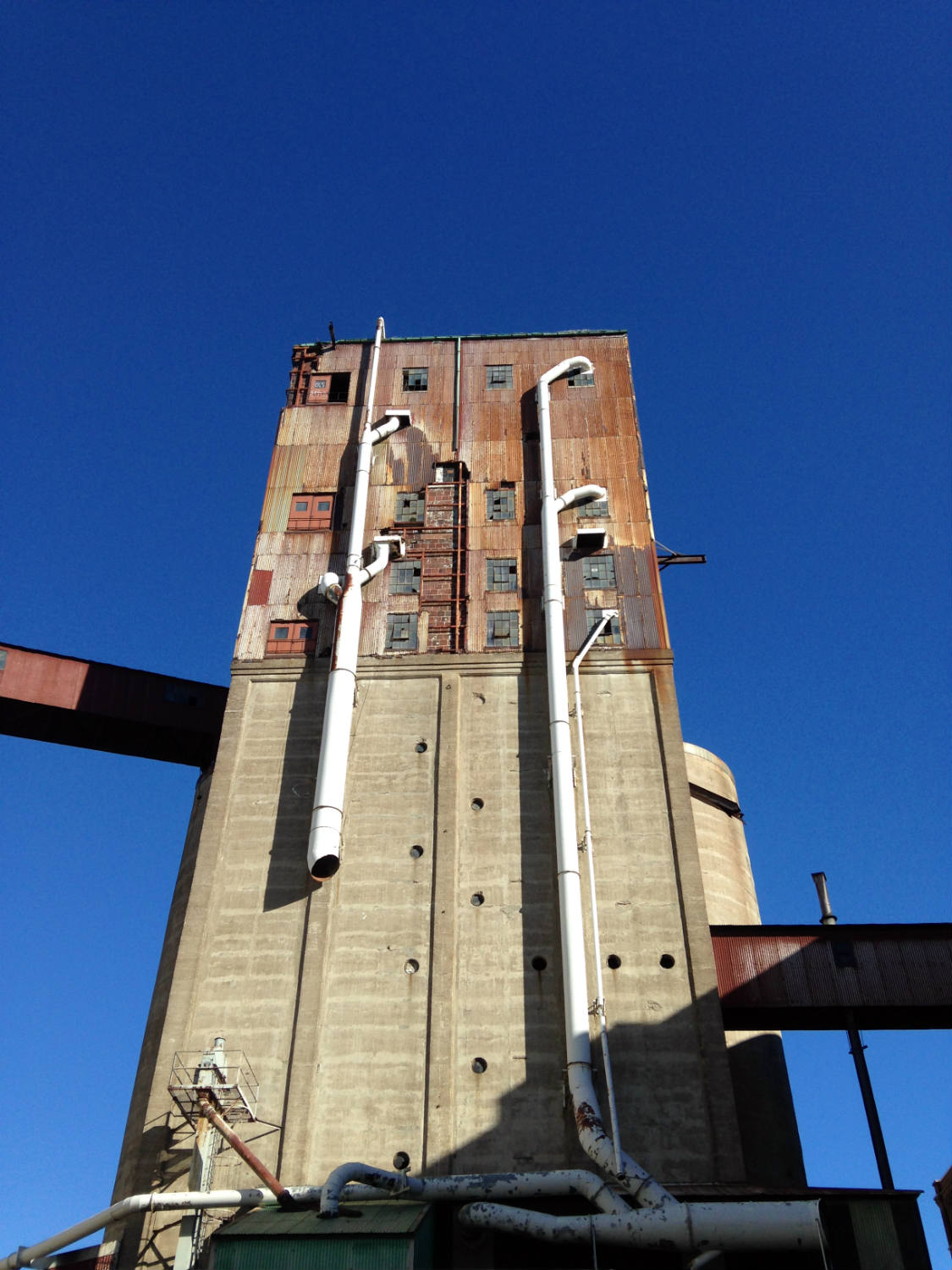 The Perot Grain Elevator in Silo City; Buffalo, NY